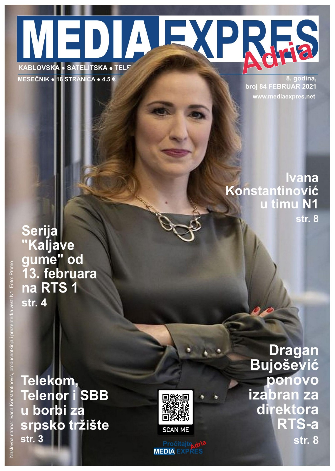 Media Expres Adria No. 2 FEBRUAR 2021 1st Cover