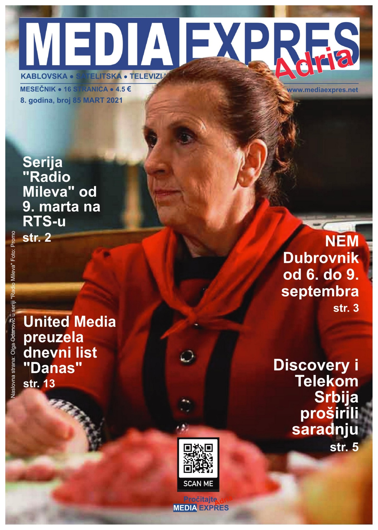 Media Expres Adria No. 3 MART 2021 1st Cover