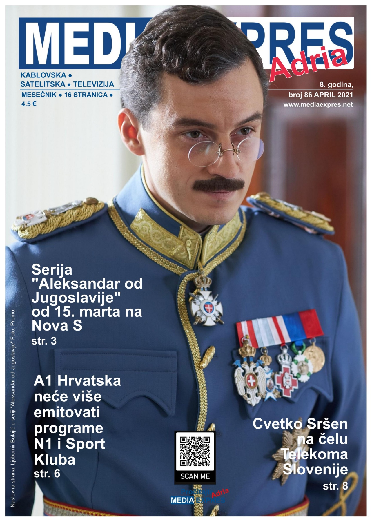 Media Expres Adria No. 4 APRIL 2021 1st Cover