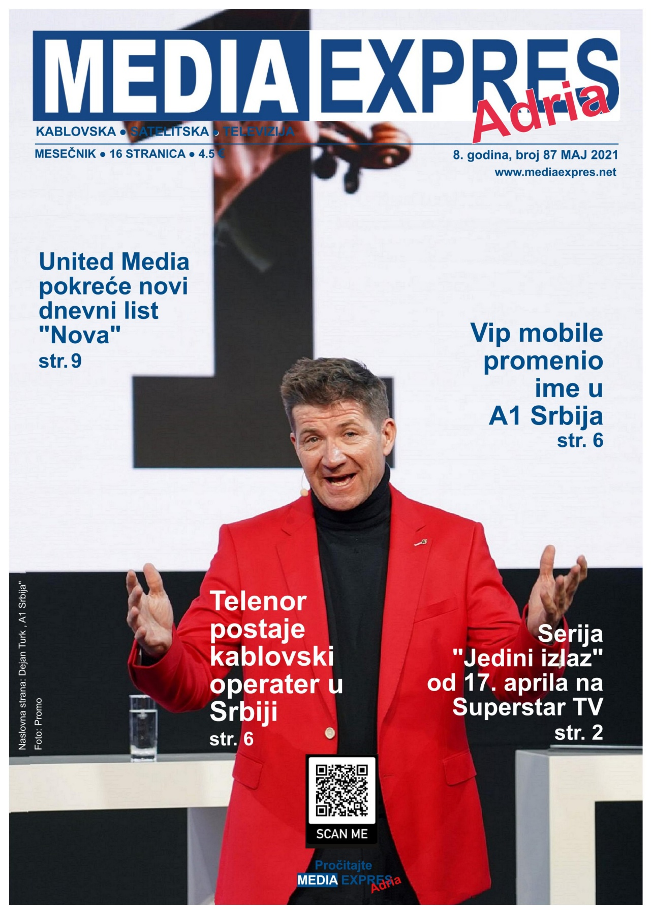 Media Expres Adria No 5 Maj 2021 1st Cover