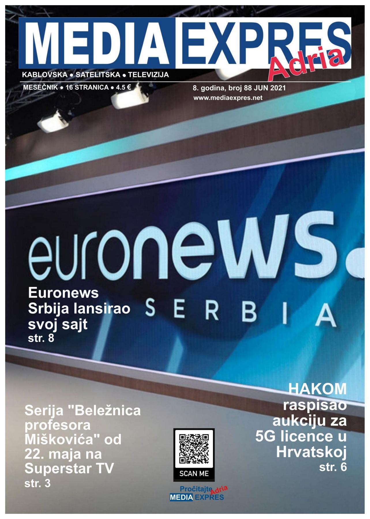 Media Expres Adria No 6 JUN 2021 1st Cover