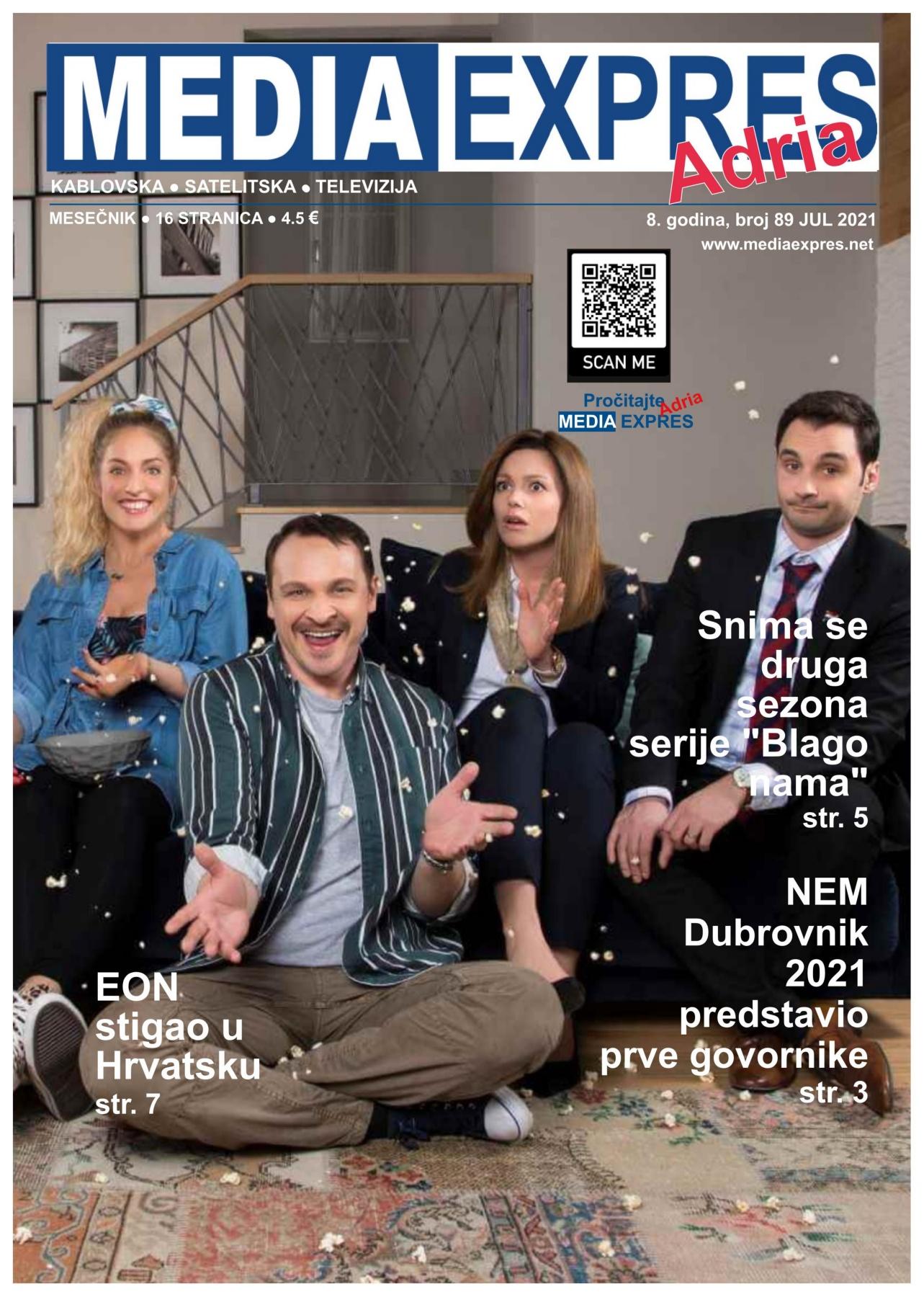 Media Expres Adria No 7 JUL 2021 1st Cover