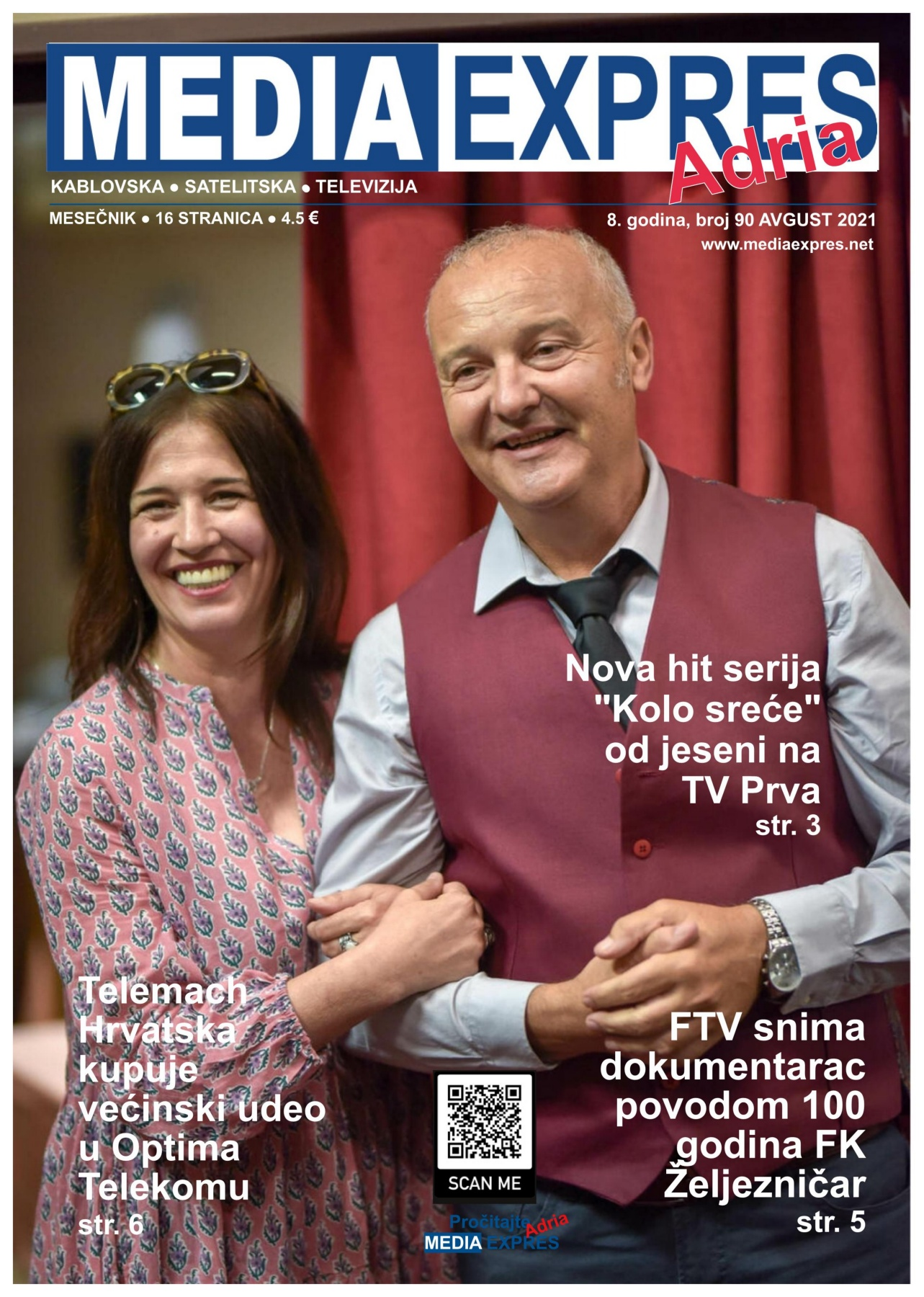 Media Expres Adria No 8 AVGUST 2021 1st Cover