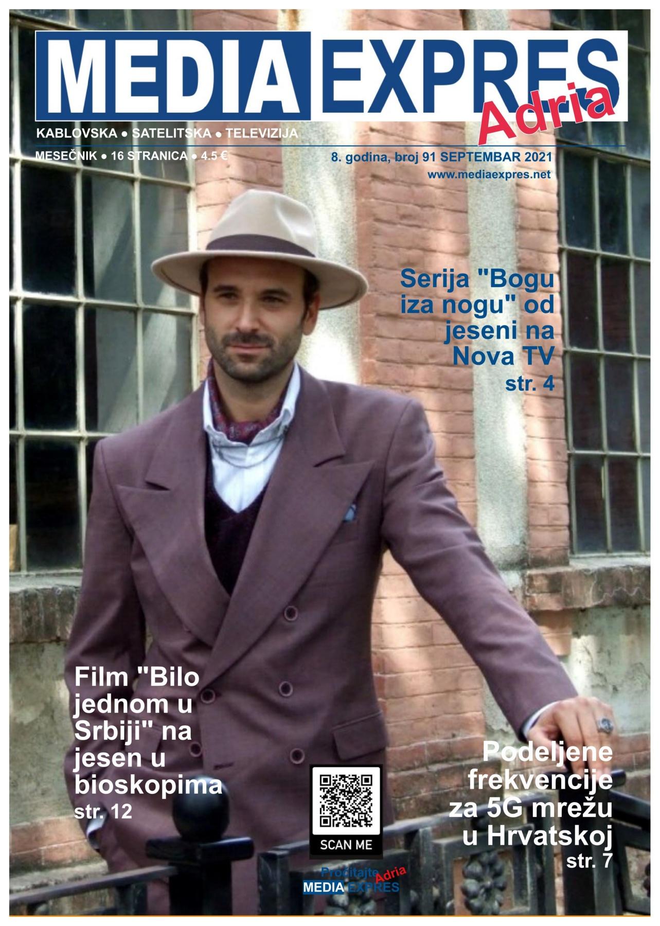Media Expres Adria No 9 SEPTEMBAR 2021 1st Cover