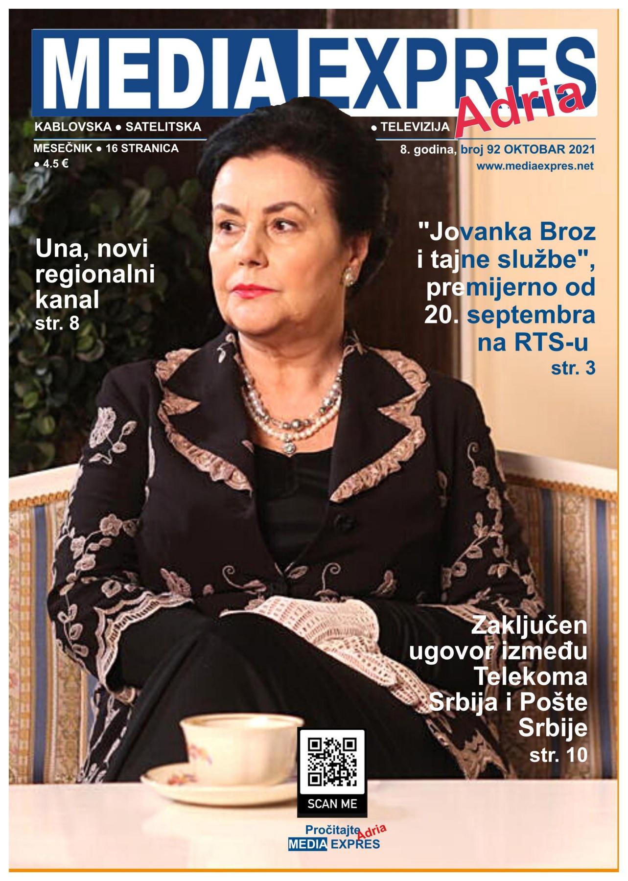 Media Expres Adria No 10 OKTOBAR 2021 1st Cover